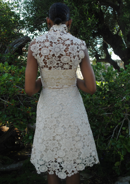 vintage-inspired-lace-knee-length-dress-back-view
