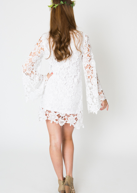 long-bell-sleeve-bohemian-casual-wedding-dress