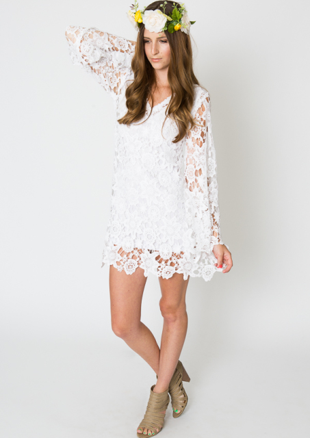 bell-sleeve-mini-dress-lace-crochet-available-in-ivory-white-black