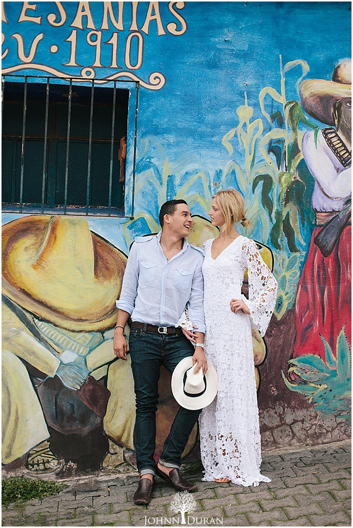 Bohemian Wedding Engagement Shoot in Mexico