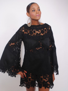 black-lace-dress-with-bell-sleeve-hippie-boho-vintage-style-mini