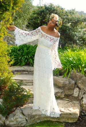 lace-maxi-dress-off-shoulder-with-bell-sleeve-belted-waist-bohemian