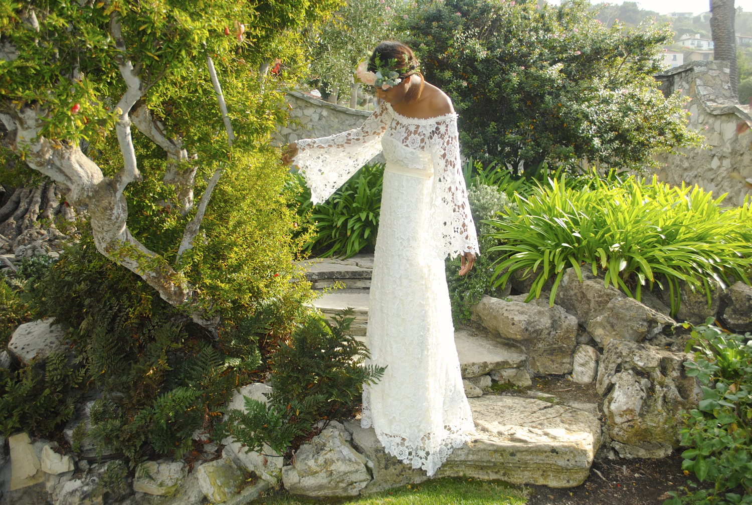 Crochet Wedding Dress For The Boho Bride