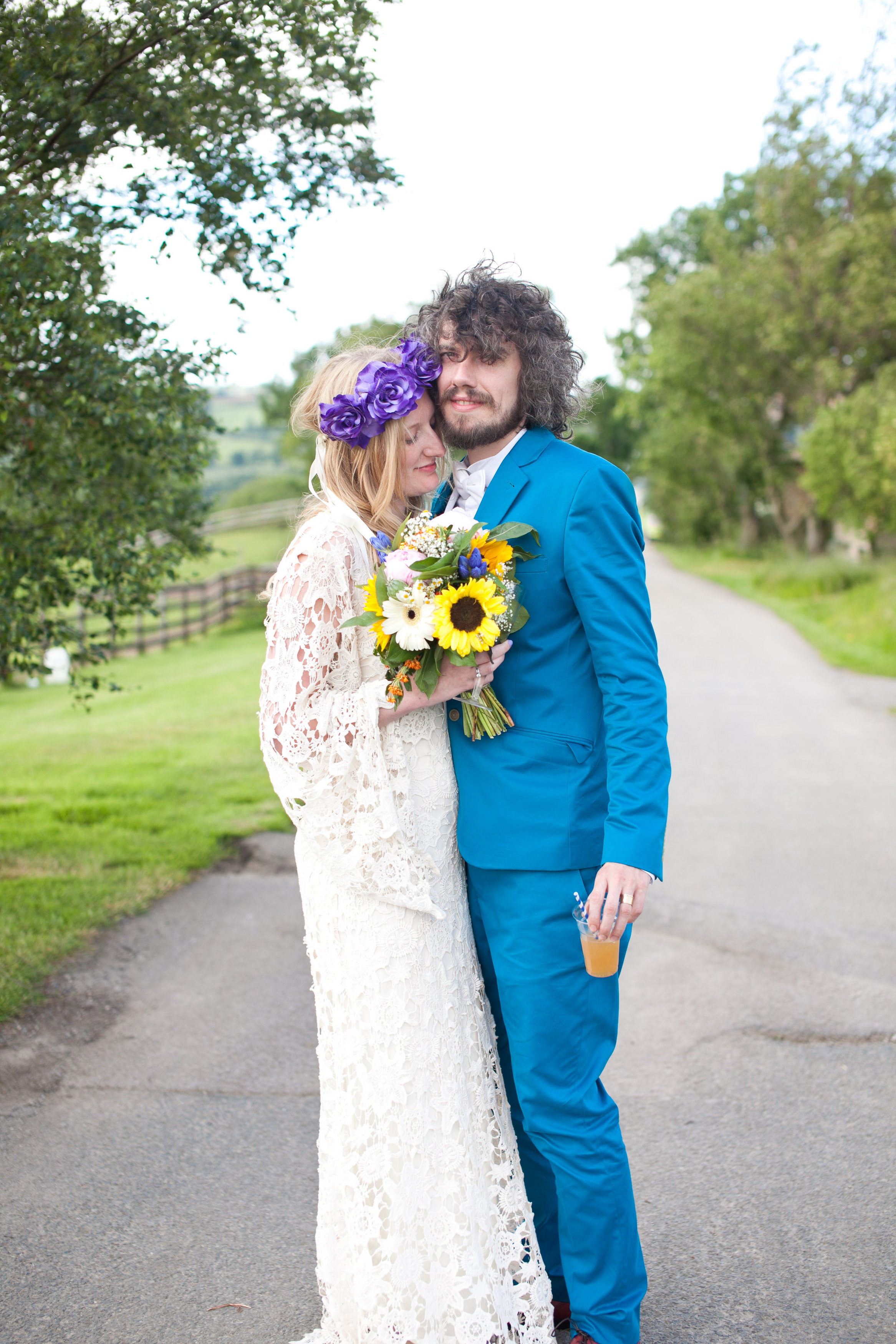 A Hippie Inspired Wedding In London
