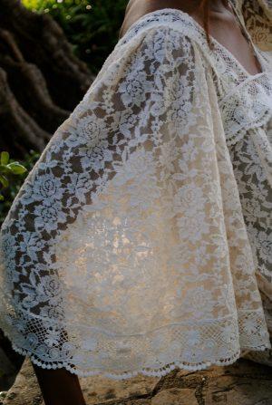 close-up-view-kaftan-hippie-dress
