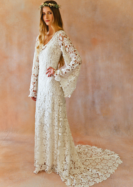 arabelle-vintage-inspired-lace-gown-with-train-boho-wedding-dress