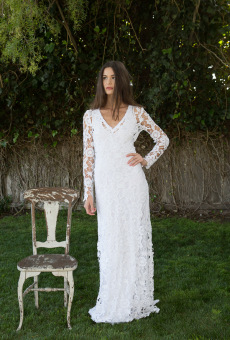 lace-dress-with-sleeves-front-view-full-length