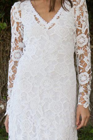 boho-crochet-lace-wedding-dress-vintage-style