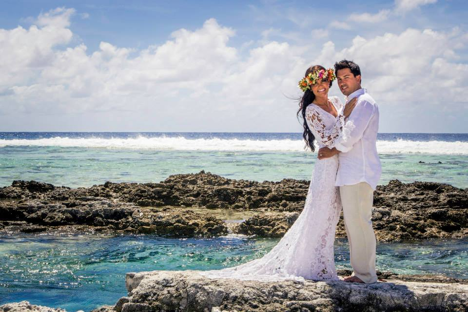 Bora Bora Bohemian Wedding Elopement Dreamers And Lovers