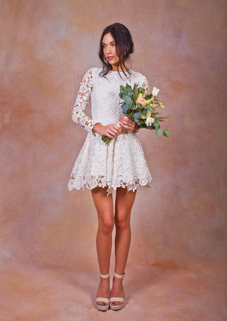 long-sleeves-boho-lace-dress-in-short-wedding-dresses