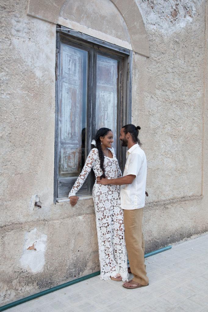 Italian-wedding-bohemian-bride-Josefina-wearing-the-Iris-dress