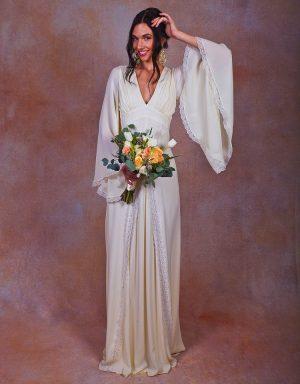 chiffon-wedding-dress-ivory-silk-bohemian-boho-style
