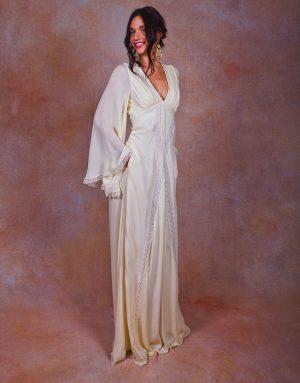 flowy-ivory-silk-chiffon-wedding-gown-bohemian-angel-long-sleeve