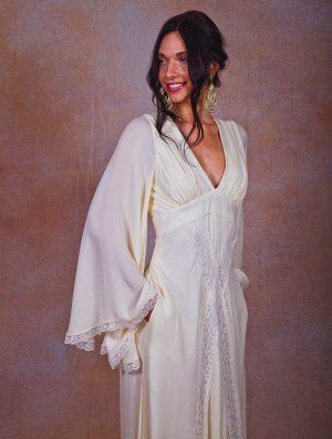flowy-empire-waist-silk-chiffon-bohemian-wedding-dress