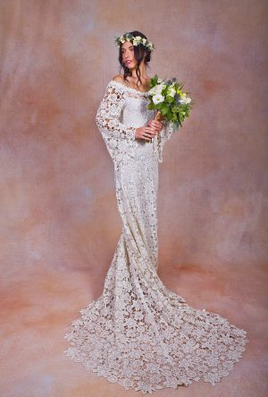 daphne-off-shoulder-bohemian-wedding-dress-with-train