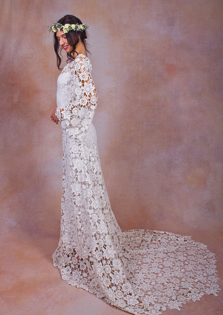 daphne-boho-wedding-dress-crochet-style-lace-with-train
