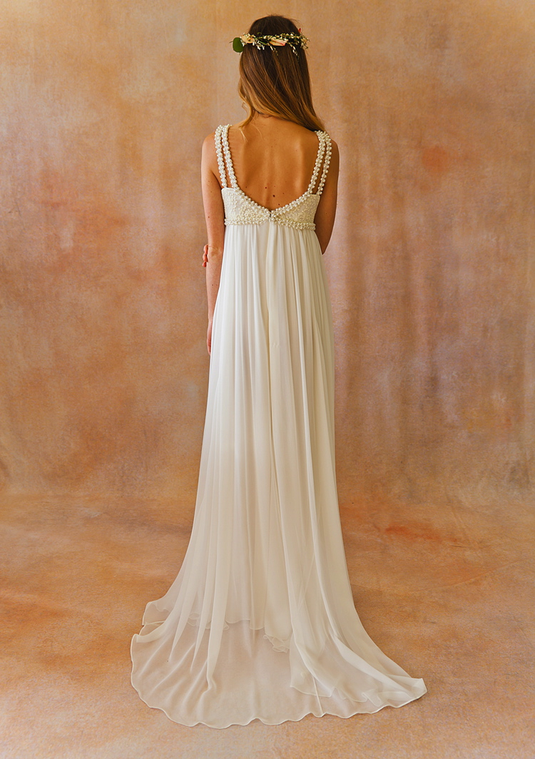 Silk Chiffon Floaty Ace Boho Wedding