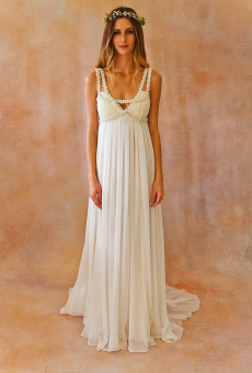 Ava Embellished Silk Gown