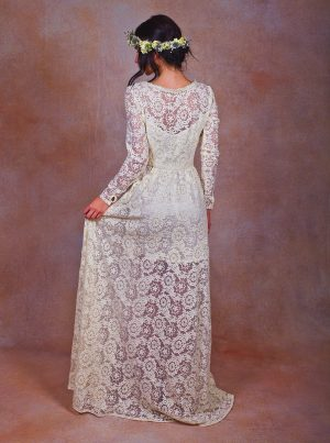 lace-beaded-wedding-dress-for-bohemian-modern-bride