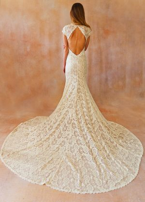 open-back-cap-sleeve-wedding-dress-embroidered-lace