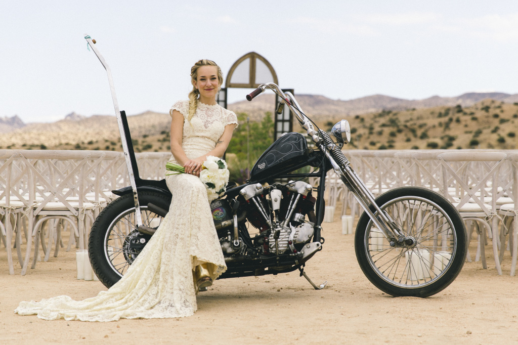 cool-bride-karli-on-motorcycle-in-dreamers-and-lovers-alice-lace-dress