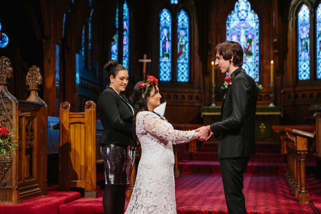 bohemian-bride-Ellie-with-groom-Liam