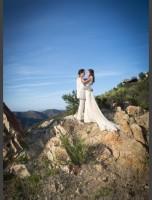 bride-bridgham-wearing-adelaide-bohemian-lace-wedding-dress