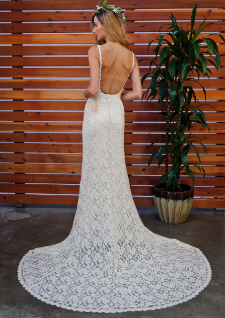 lace-bodysuit-with-fitted-skirt-with-long-elegant-train-for-the-boho-bride