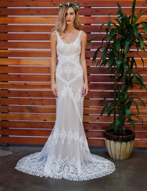 dreamers-and-lovers-bohemian-lace-wedding-dress-with-open-back-and-train