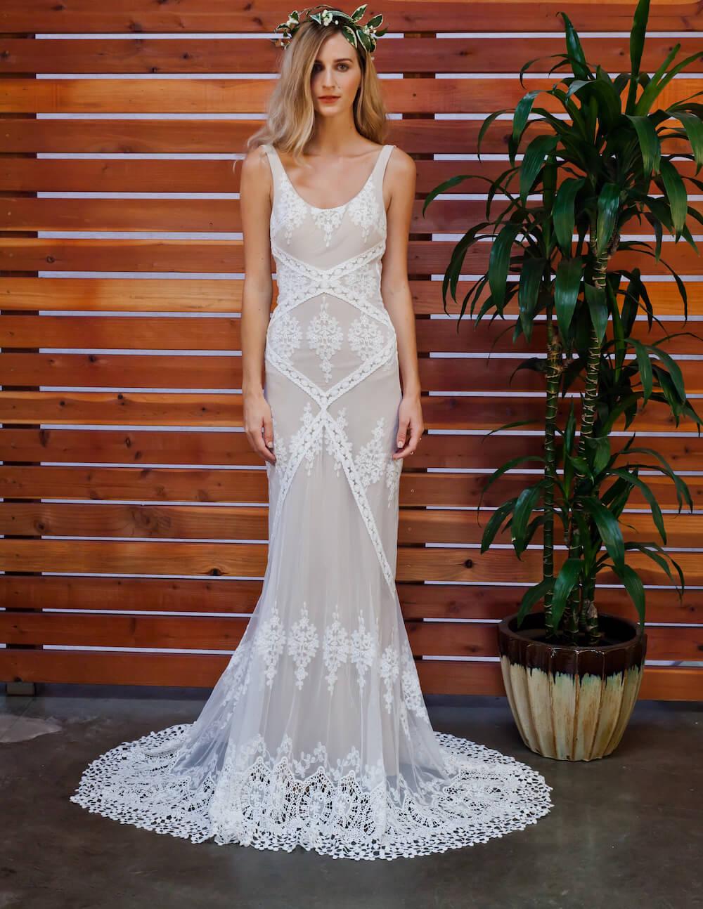 Dreamersandloversbohemianlaceweddingdresswith: Bridal Lace Wedding Dress At Reisefeber.org