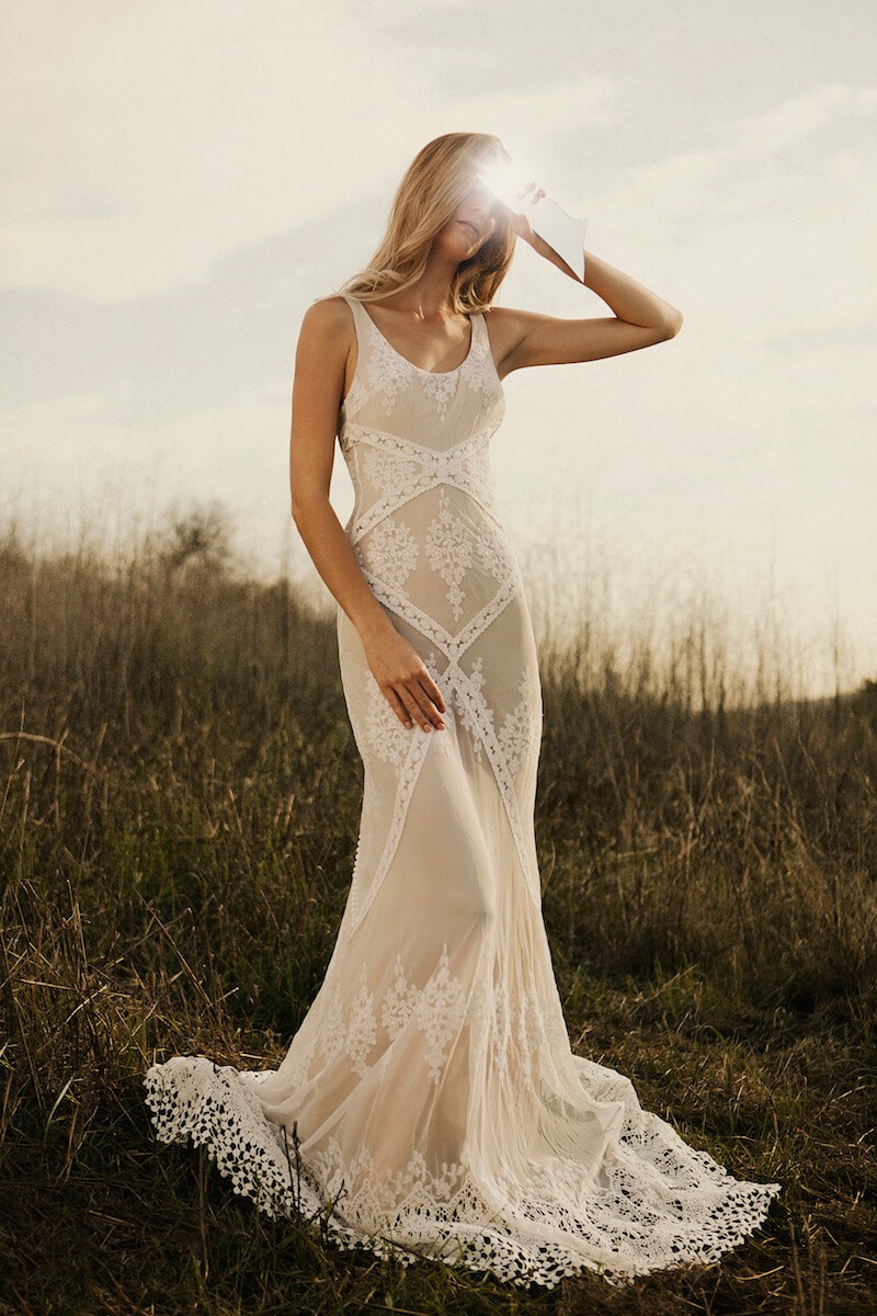 New eternal romance bridal collection dreamers and lovers for Bohemian wedding dress shops