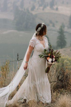 bride-beta-wearing-vintage-inspired-azalea-simple-lace-wedding-dress