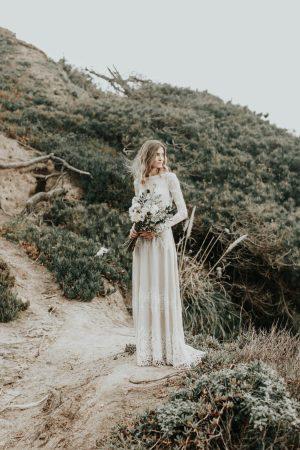 boho-bride-nelli-wearing-lisa-long-sleeve-wedding-dress-photographed-by-the-california-coast