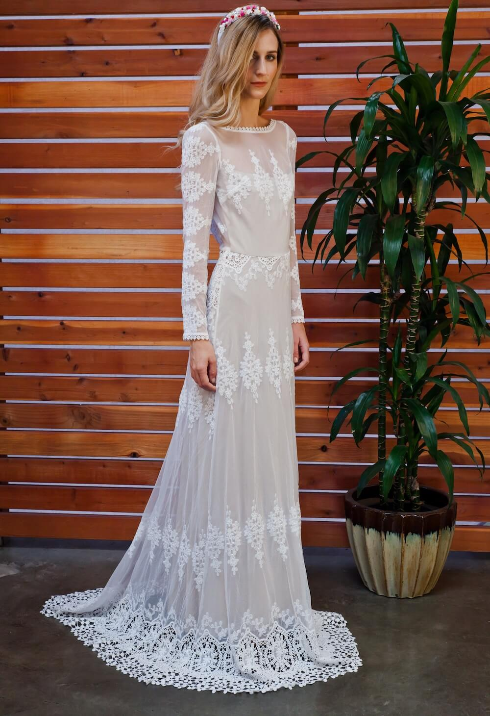 Wedding Dress Vintage Boho