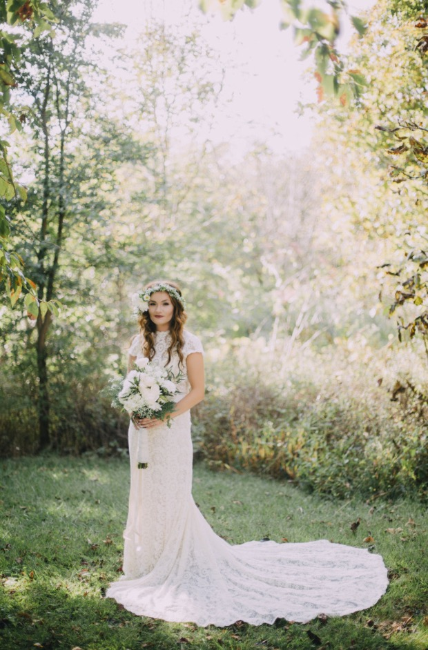 Intimate Rustic Mountain Wedding + Great Love Story