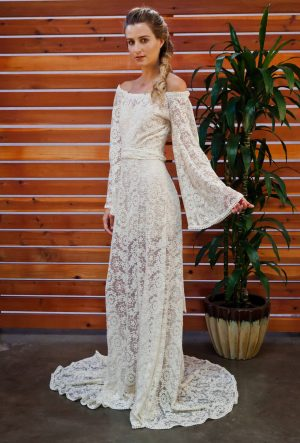 SYDNIE LACE GOWN