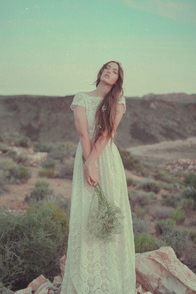 dreamers-and-lovers-open-back-lace-boho-wedding-dress-with-full-skirt-featured-in-the-desert-bridal-editorial