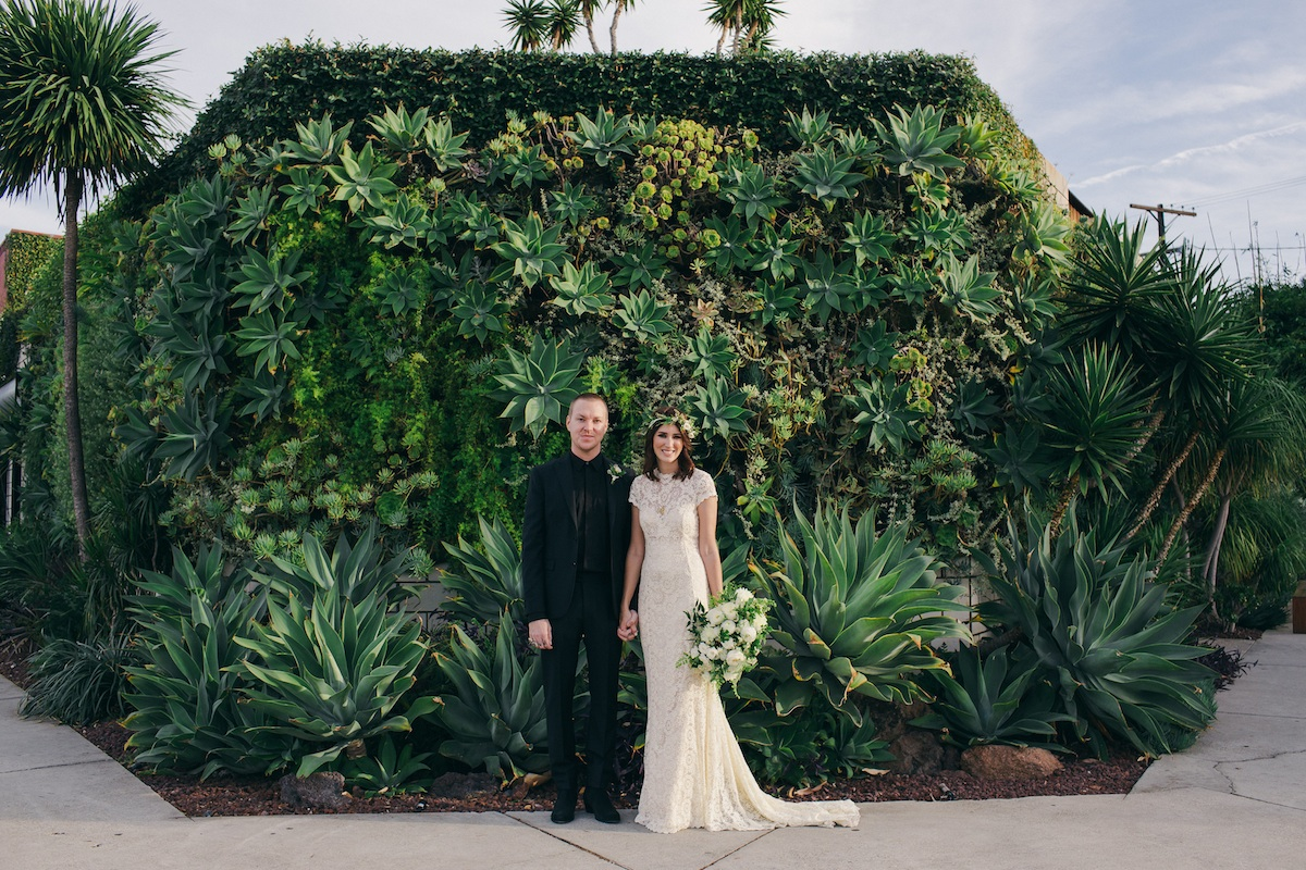 Kerri + Chris Chill but Incredible LA Wedding
