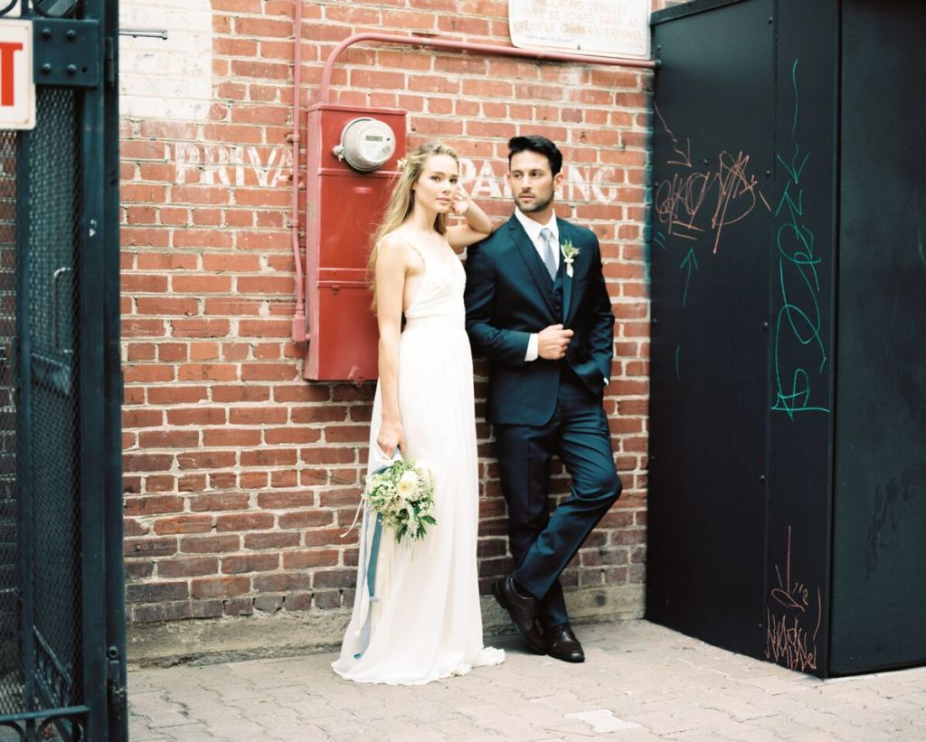 industrial-wedding-perfect-for0the-boho-leaning-bride-in-simple-wedding-dress