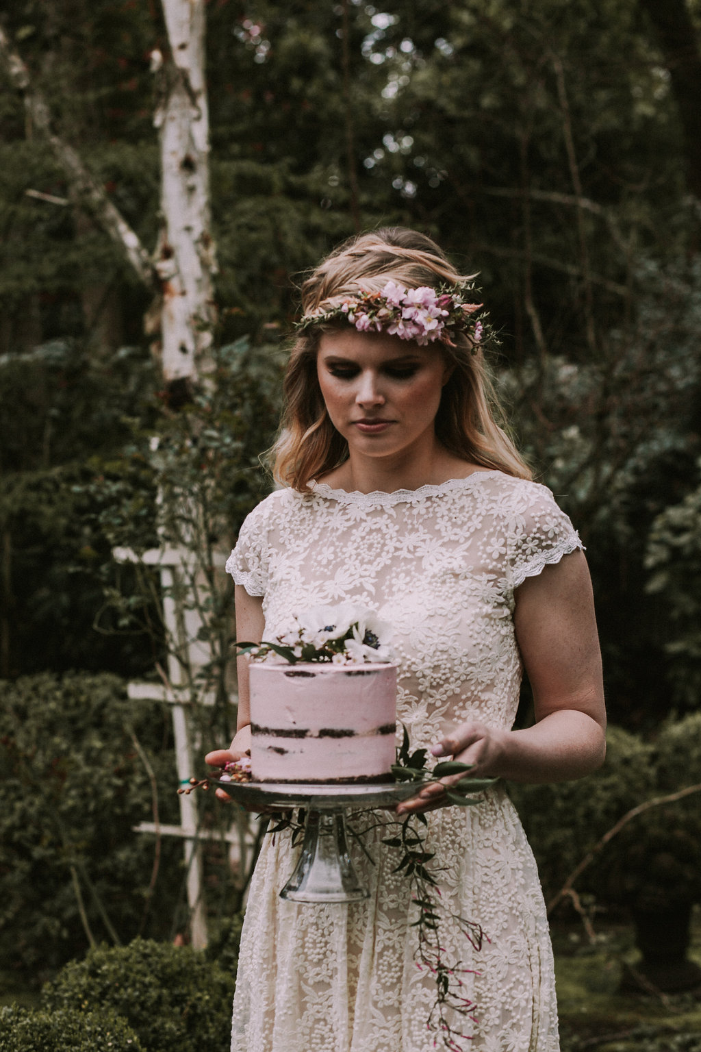 Effortlessly Romantic and Simple Bohemian Wedding Inspiration