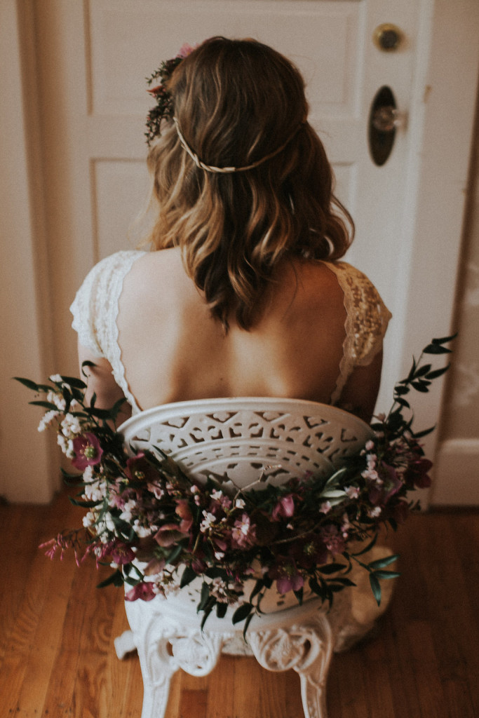dreamers-and-lovers-backless-simple-;lace-wedding-dress-from-the-oregon-inspiration-shoot