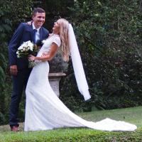 australian-bohemian-bride-wearing-white-lace-backless-wedding-dress