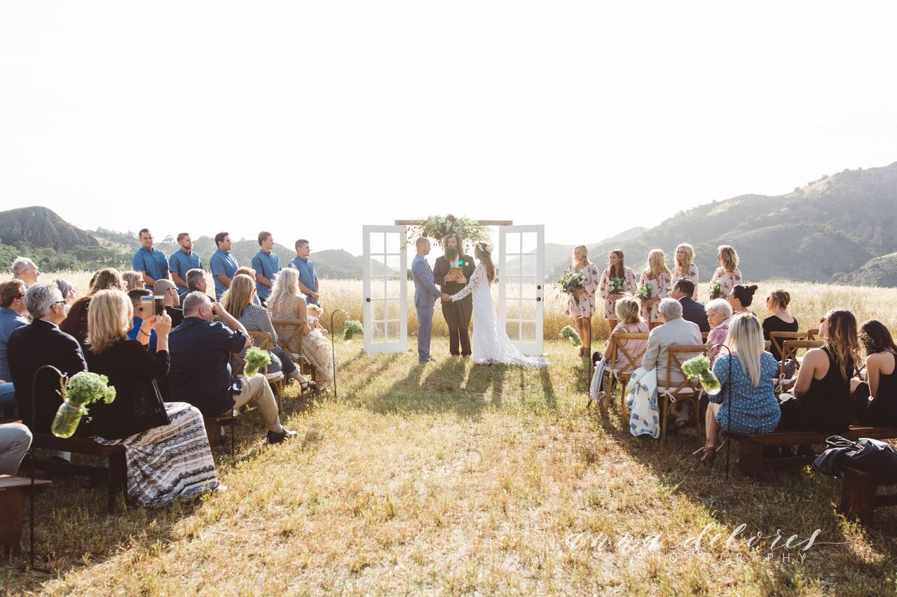Erika & Ryan Farmhouse Rustic Bohemian Wedding