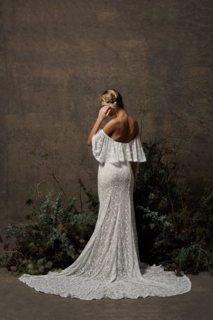 back-view-dreamers-and-lovers-off-shoulder-boho-wedding-dress