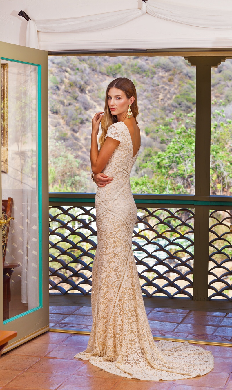 Simple Wedding Dress Adelaide : Adelaide bohemian lace wedding dress dreamers and lovers