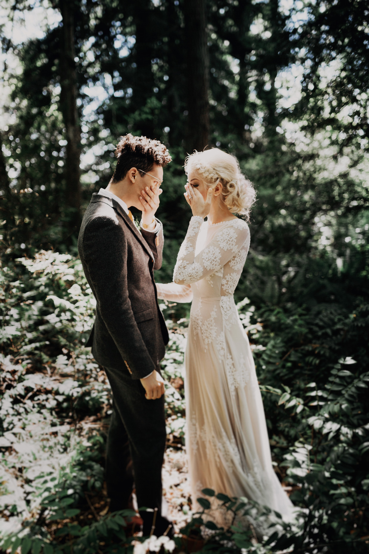 Olga + Chris Hipster Portland Wedding | Dreamers and Lovers
