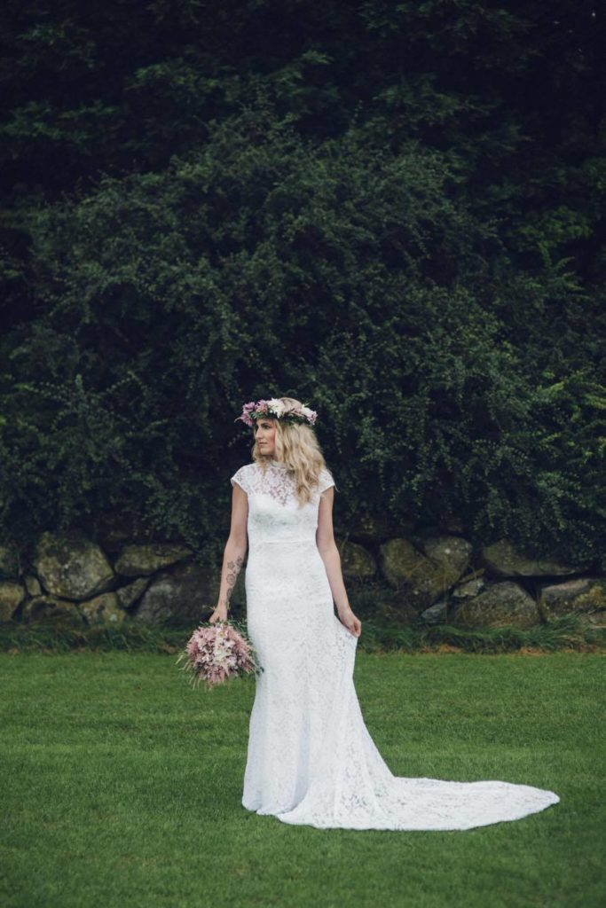 Norwegian-bohemian-bride-in-agnes-simple-wedding-dress