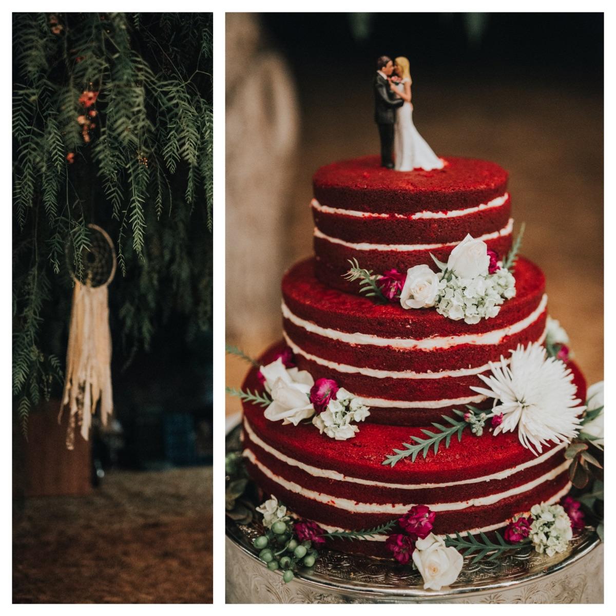 red-velvet-naked-cake-bohemian-wedding-inspiration