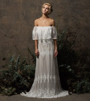 dreamers-and-lovers-off-shoulder-lace-bohemian-wedding-dress-done-in-embroidered-applique-lace