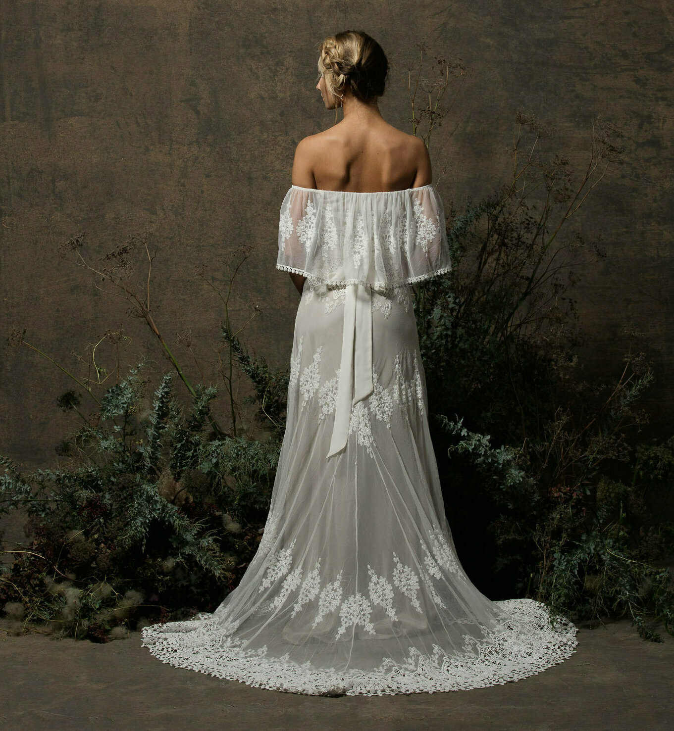 off-white-nude-liner-lace-wedding-dress-with-off-shoulder-neckline